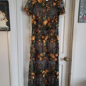 Lularoe Deanne II Lace Dress